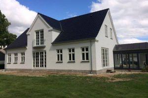 Byggefirma på sjælland i gang med husbyggeri
