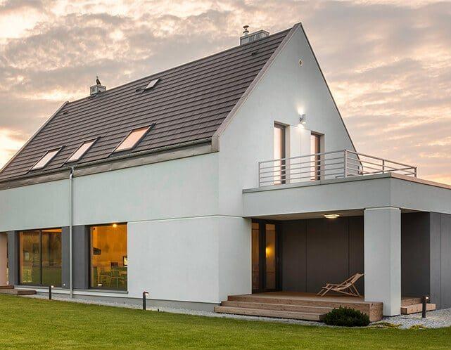 husbyggeri udført af byggefirma på sjælland